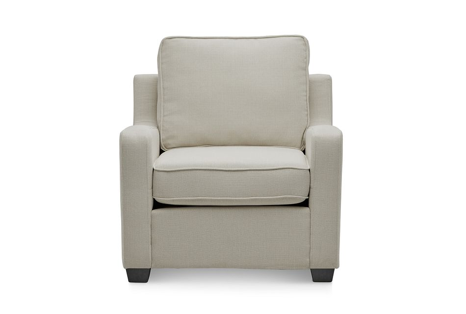 Delaware Light Beige Fabric Chair
