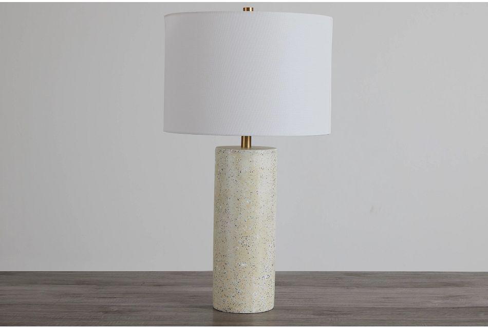 Annie White Terrazzo Table Lamp,  (0)