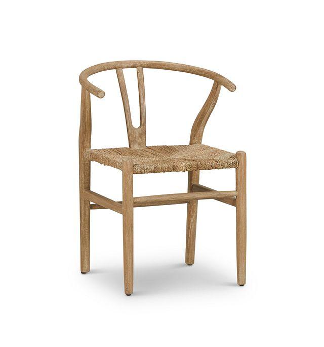 Moya Light Tone Wood Side Chair (1)