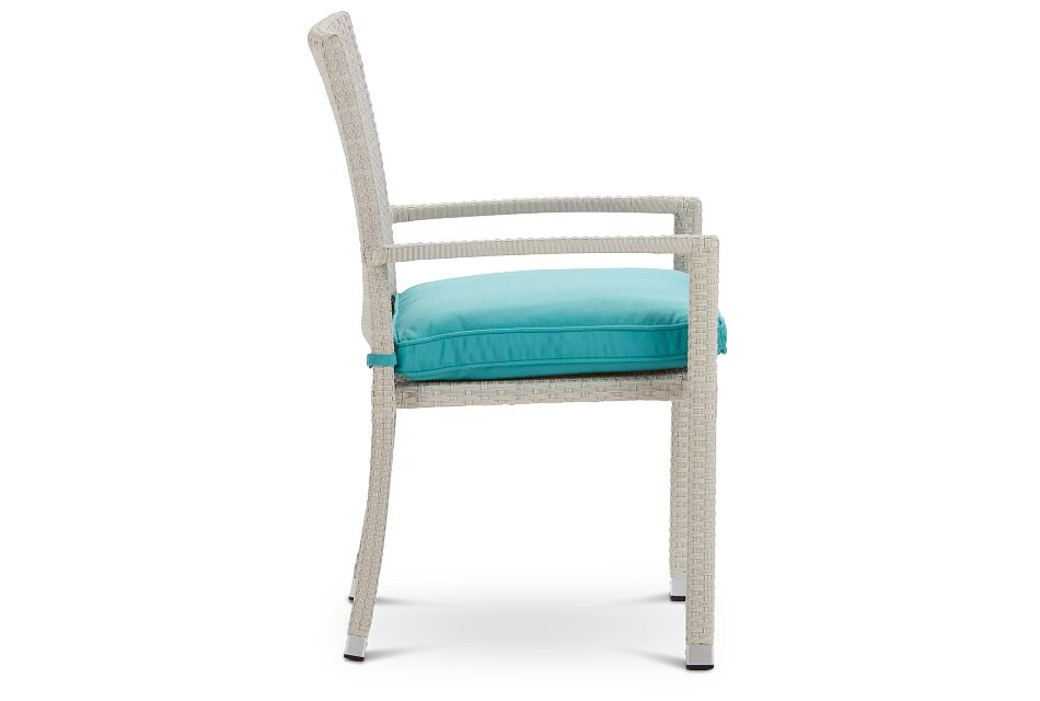 Bahia Dark Teal Arm Chair