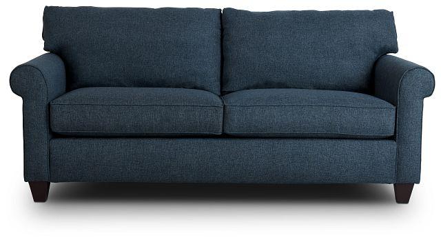 Cameron Blue Fabric Innerspring Sleeper (1)