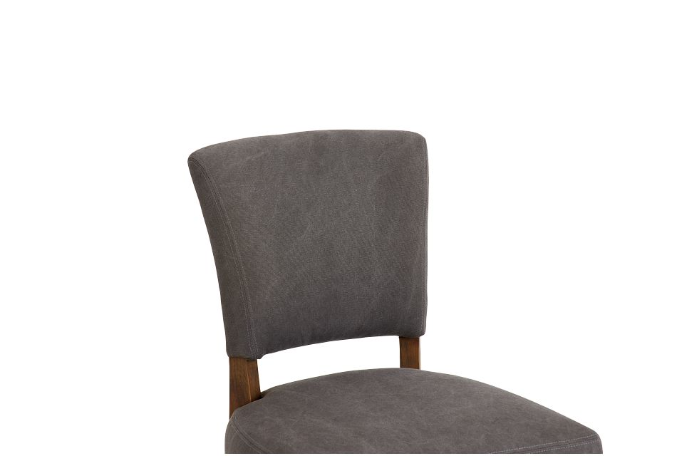Camilla Gray Upholstered Side Chair