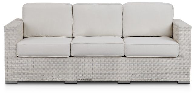 Biscayne White Sofa (0)