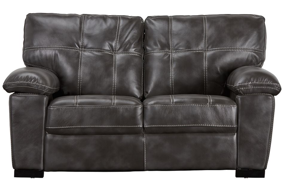 Henry Gray Micro Loveseat