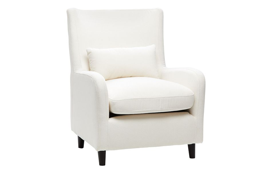 Fremont Light Beige Fabric Accent Chair