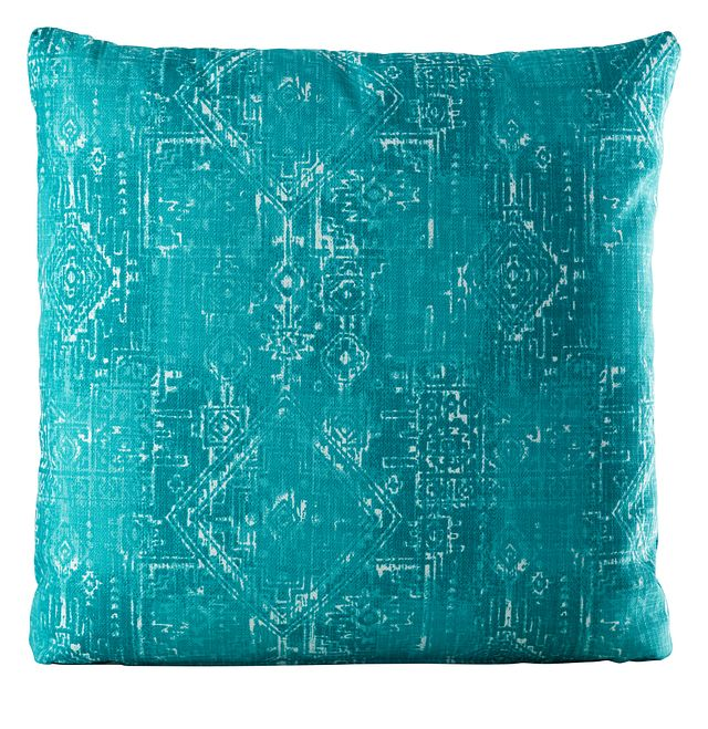 """Sious Blue 20"""" Indoor/outdoor Accent Pillow (0)"""