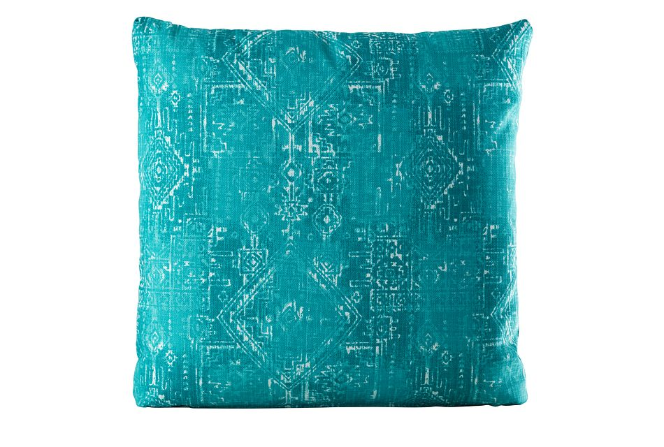 "Sious Blue 20"" Indoor/outdoor Accent Pillow"