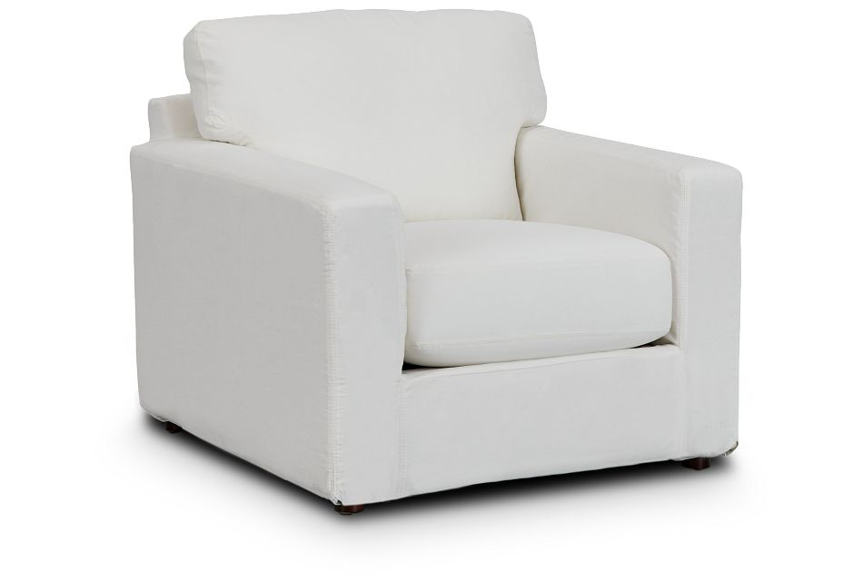 Poppy Light Beige Fabric Chair,  (1)