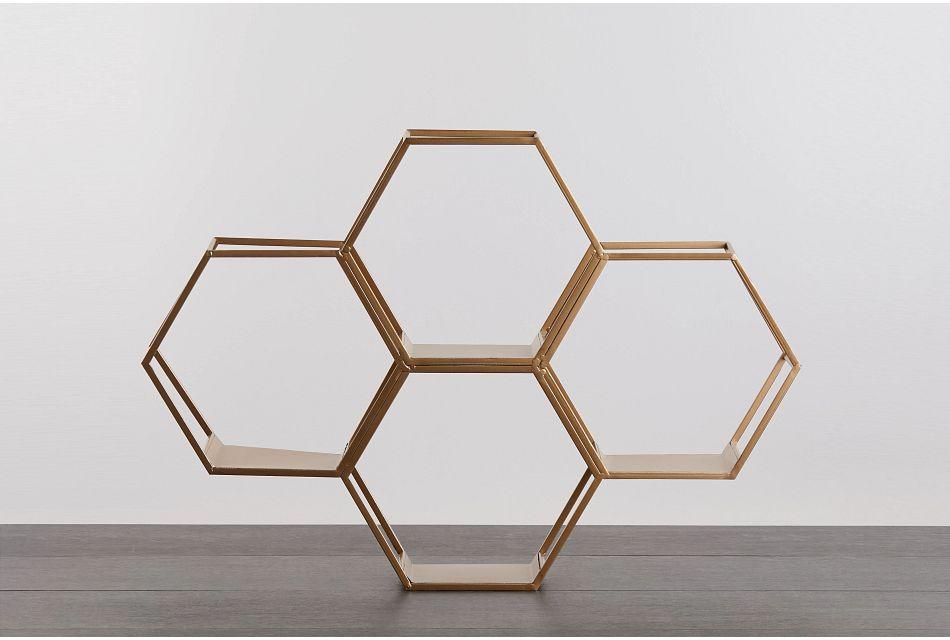 Gala Gold  Wall Shelf,  (0)