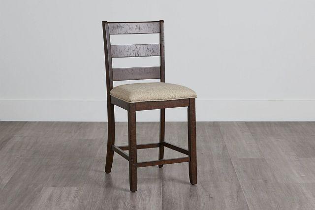 "Jax Dark Tone 24"" Wood Barstool (0)"
