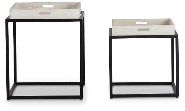 Bodi Light Tone Set Of 2 Nesting Tables (2)