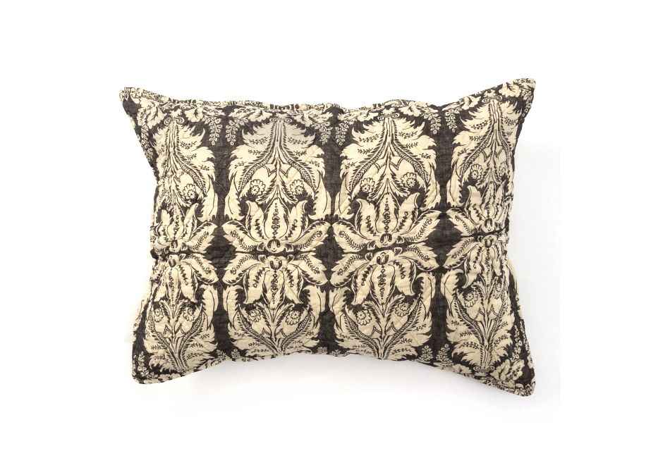 Grayson Dark Gray Sham