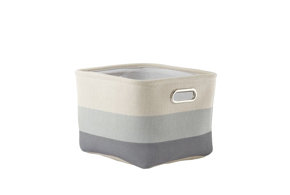 Ombre Gray  Basket,  (0)