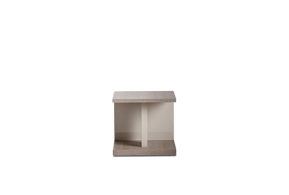 Caelan Light Tone  End Table,  (1)