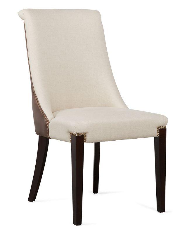 Brynn Light Beige Micro Side Chair (0)