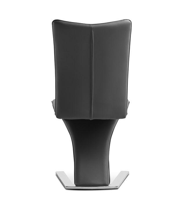 Catalina Dark Gray Upholstered Side Chair