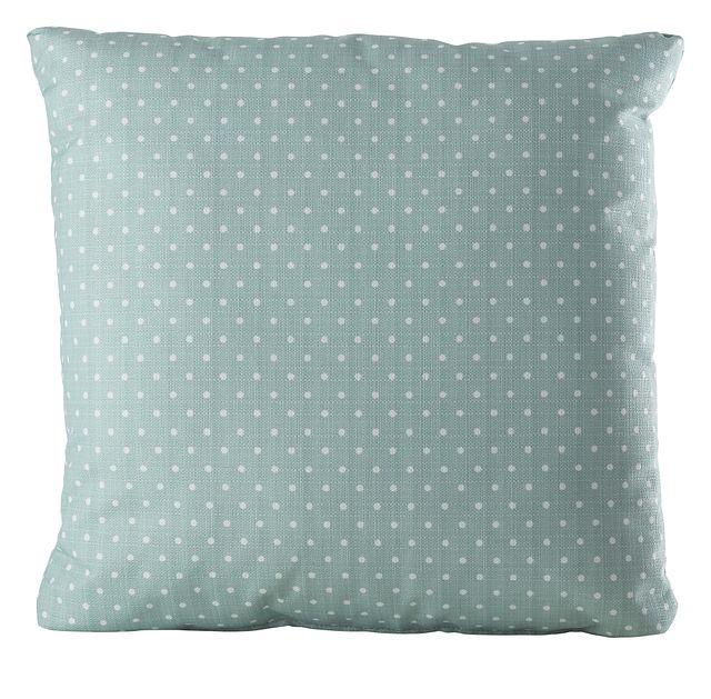 "Dots Light Blue 20"" Indoor/outdoor Accent Pillow (0)"