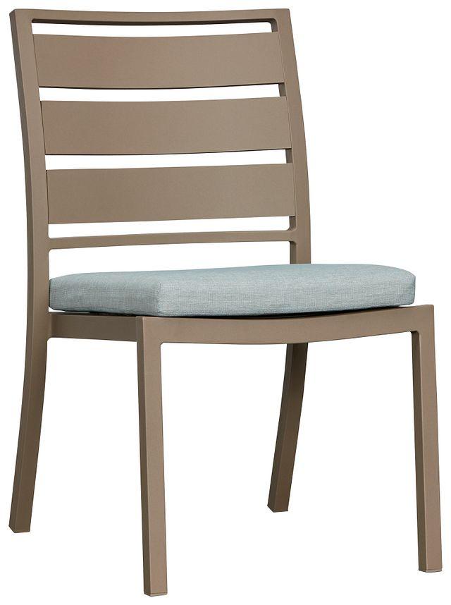 Raleigh Teal Aluminum Side Chair (0)