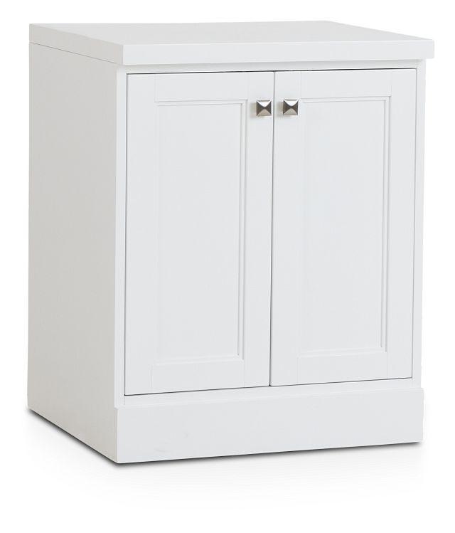 Newport White Door Cabinet (2)