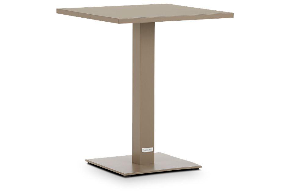 """Aventura Champagne 23"""" Square Table"""