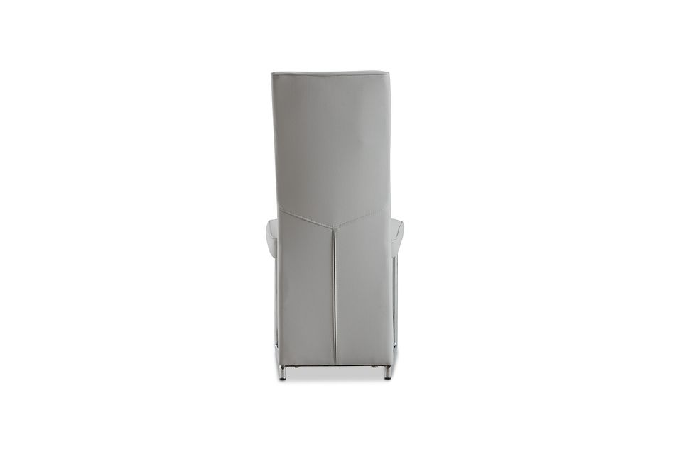 Paris Light Gray Upholstered Side Chair