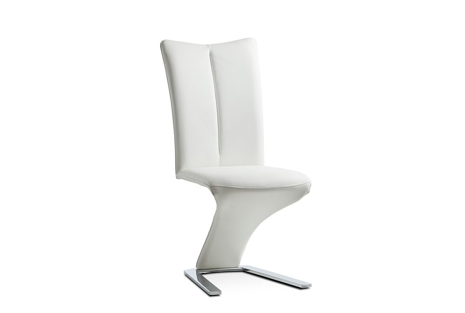 Catalina White Upholstered Side Chair