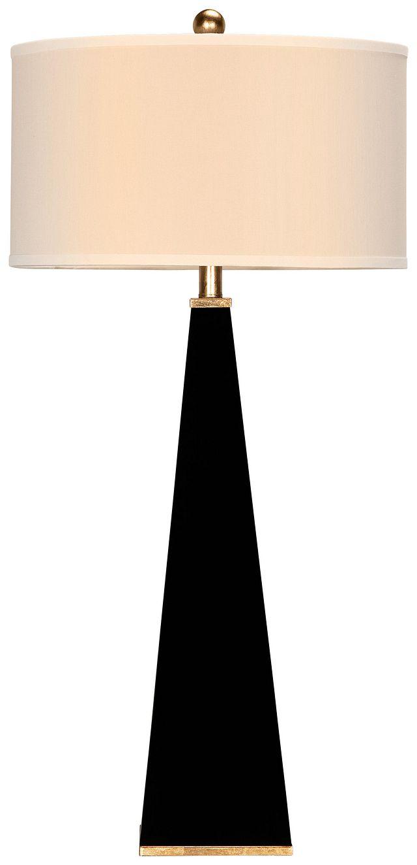Elle Black Table Lamp