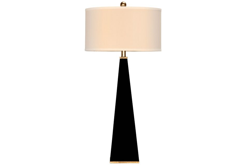 Elle Black Table Lamp