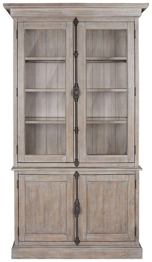 Sonoma Light Tone China Cabinet (1)