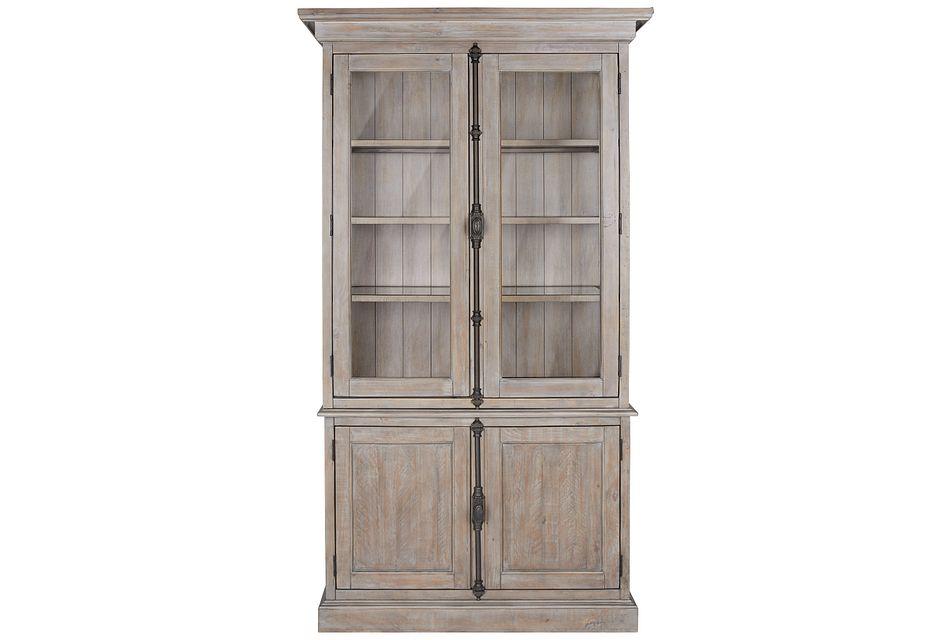 Sonoma Light Tone China Cabinet