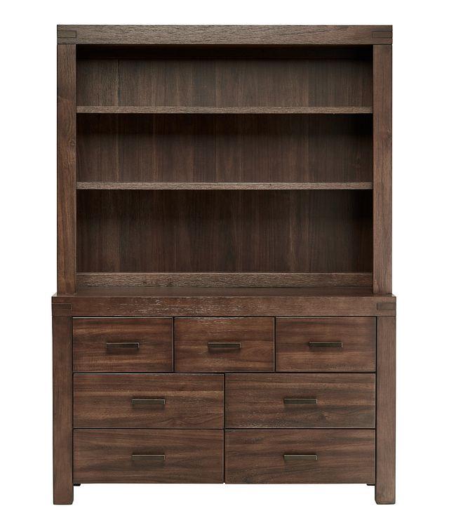 Piermont Mid Tone Dresser & Hutch (0)