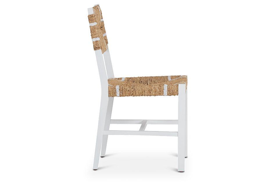 Nantucket Light Tone Woven Side Chair,  (2)