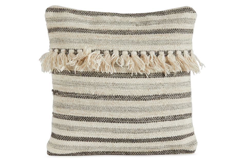 Ranger Beige Square Accent Pillow