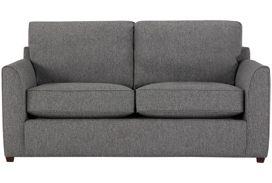 Asheville Gray Fabric Innerspring Sleeper, Full (1)