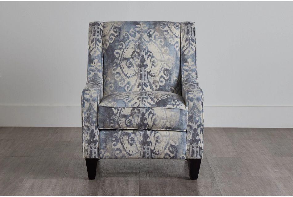 Soledad Gray Fabric Accent Chair,  (0)