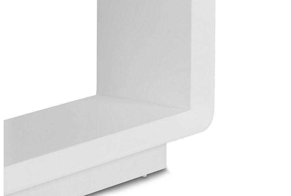 Zayden White Sofa Table