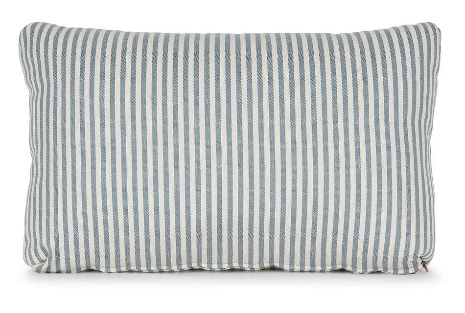 Longboard Blue Lumbar Accent Pillow,  (0)