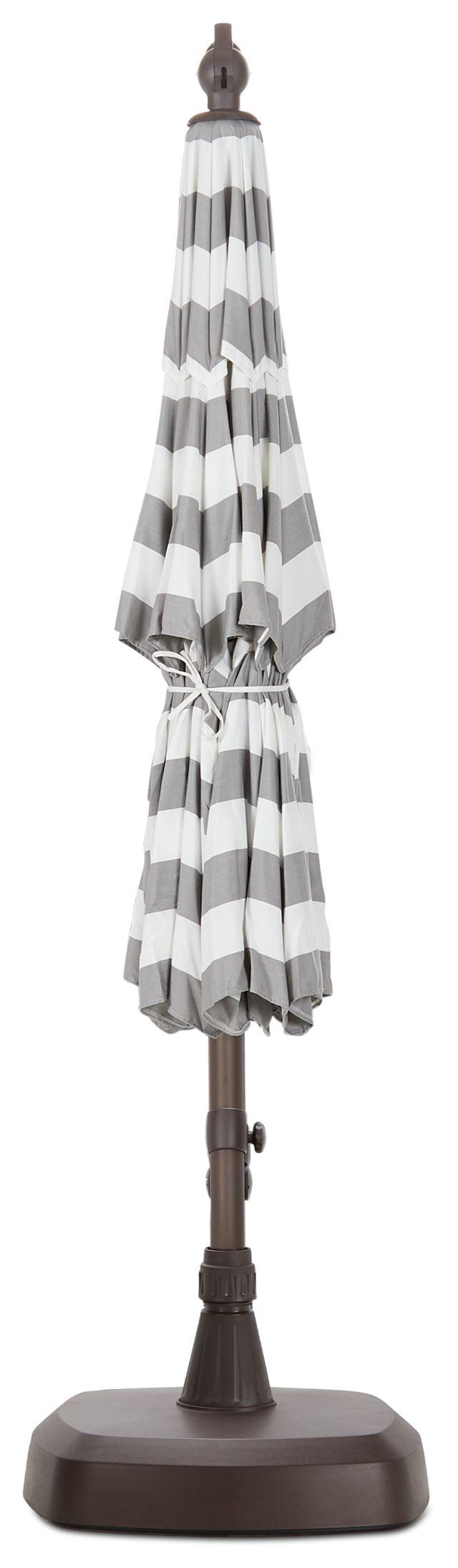 Cayman Gray Stripe Cantilever Umbrella Set (0)