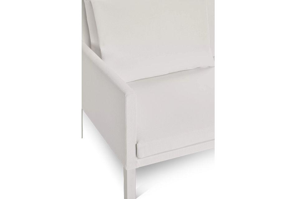 Lisbon2 White Sofa