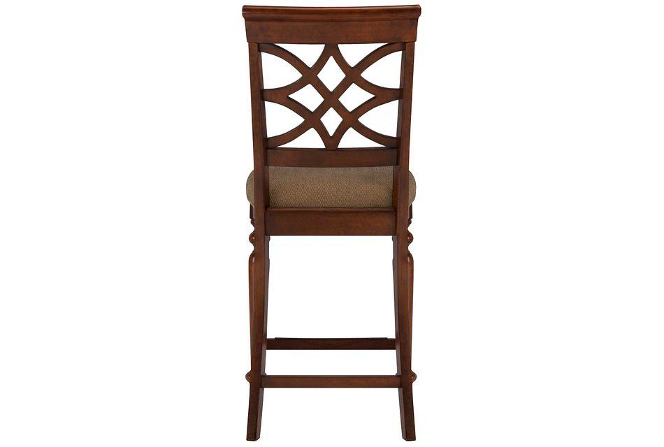 """Oxford Mid Tone 24"""" Wood Barstool"""
