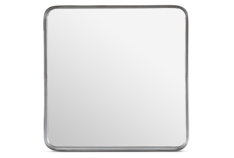 Astor Silver Square Mirror