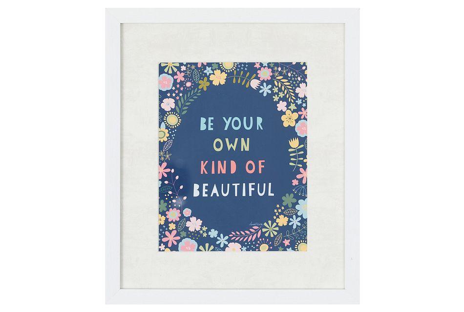 Beauty Multicolored Framed Wall Art