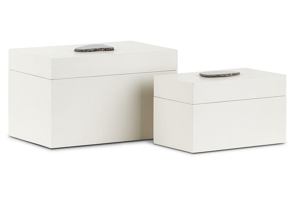 Charlotte White Set Of 2 Box