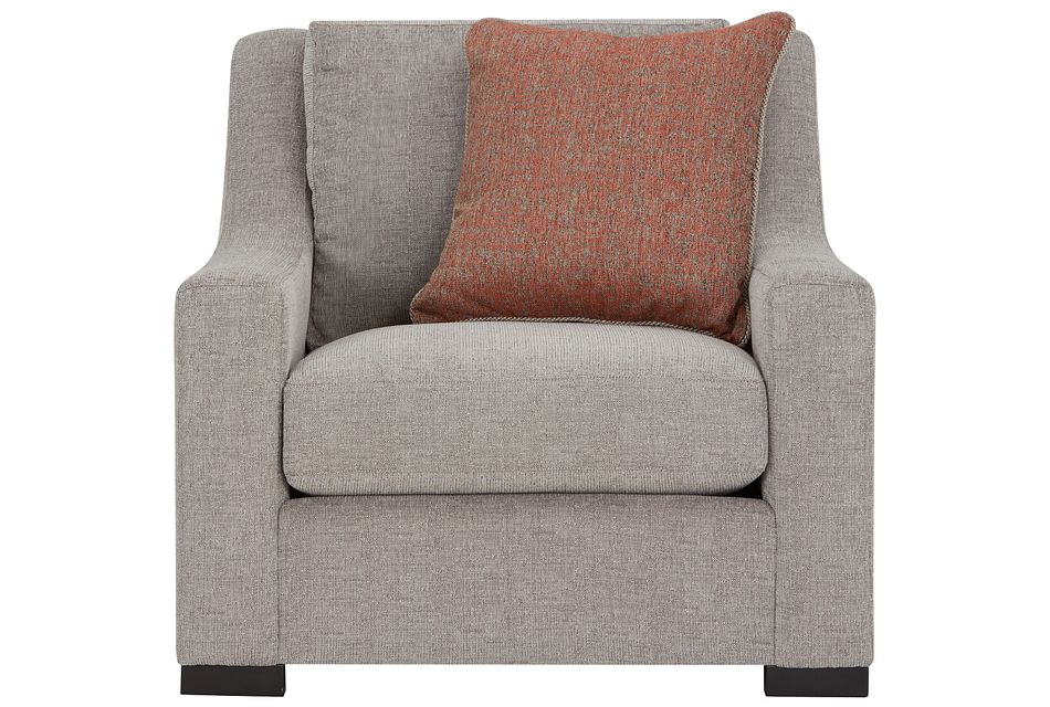 Germaine Gray Fabric Chair