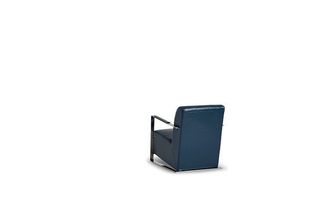 Lee Blue Uph Accent Chair