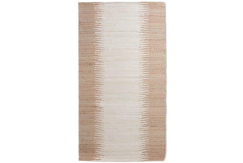 Bagram White 8x10 Area Rug