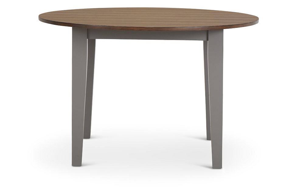 Sumter Gray Round Table,  (3)