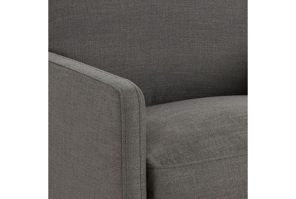 Richie Dark Gray Micro Swivel Chair