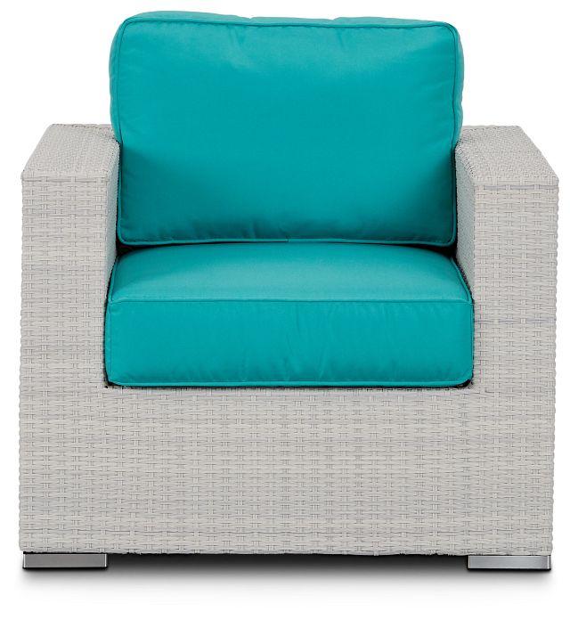 Biscayne Dark Teal Chair (2)