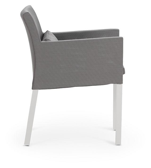 Lisbon Gray Cushioned Chair (1)